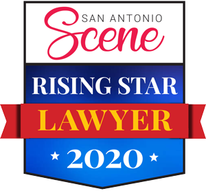 San Antonio Scene - Rising Star Lawyer 2020